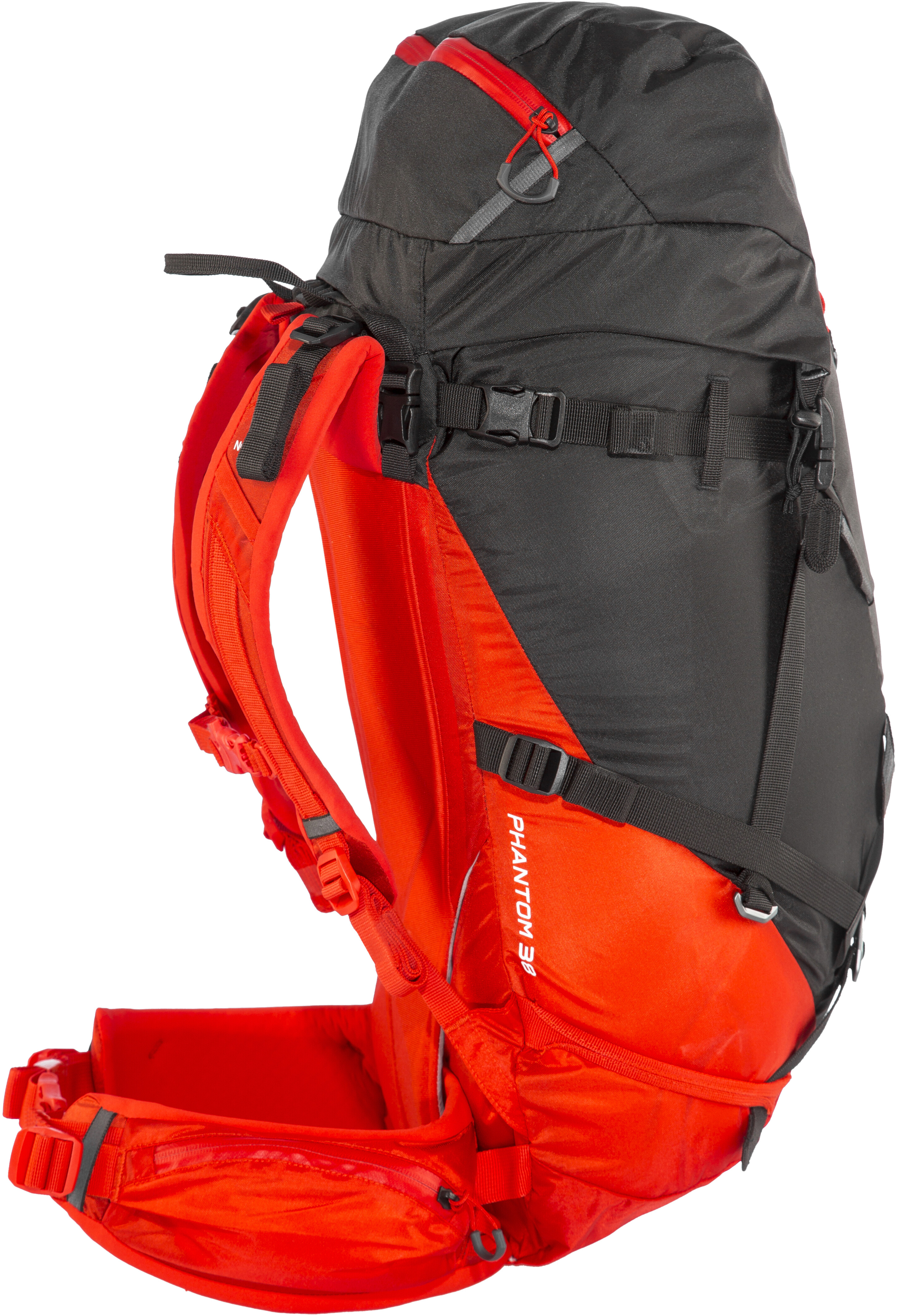 The North Face Phantom 38 Backpack Fiery Red TNF Black - addnature.com b787909aae0f6